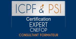 Sylvie VERDI Certification ICPF PSI CNEFOP Consultant Formateur Expert