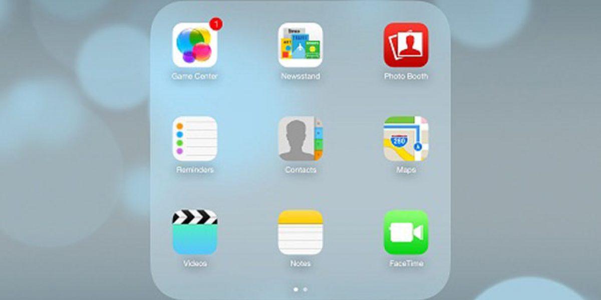 Mise à jour iPad iOS 7