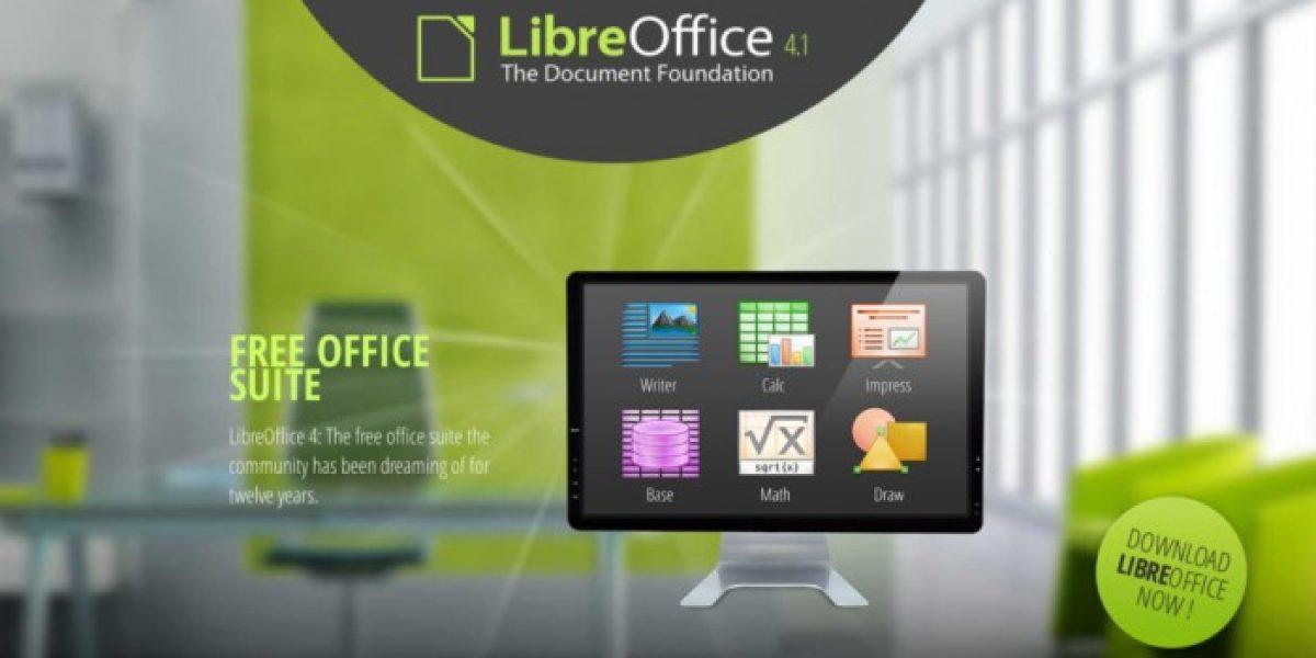 Suite libre Office 4.1